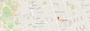 Map of Zentai Wellness Centre, Toronto
