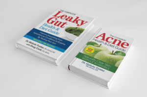 Leaky Gut Syndrome and Natural Acne Treatment Books