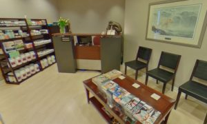 Naturopathic Centre Reception Area